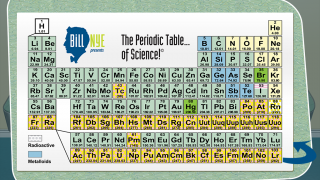 Check out the cool Periodic Table, with Bill's verbal explanations of the elements.