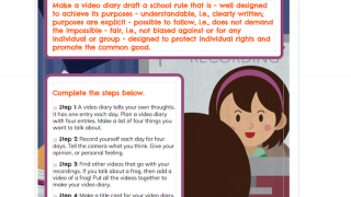 The Video Project Tool library includes premade projects for all ages and subjects.