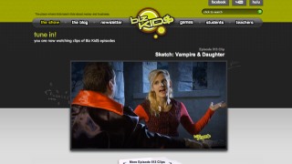 High production quality video episodes are the primary learning tool on BizKids.com.