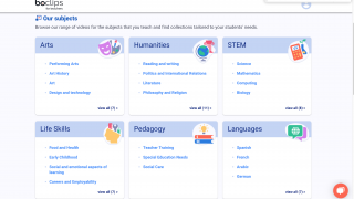 Browse across a variety of subject areas to find videos and collections relevant to your classroom.