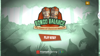 Bongo Balance is a game that teaches kids how to balance chemical equations.