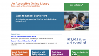 The home page provides different entry points, including a helpful Quick Start Guide for Teachers.