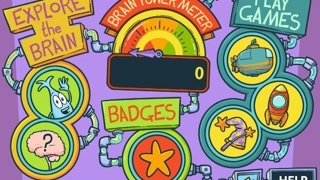 Neurons are featured characters in the videos and games.