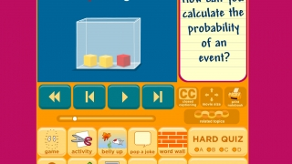 A short video introduces each topic, covering key vocabulary and concepts.