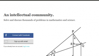 Brilliant is an online forum to discuss math and physics problems.