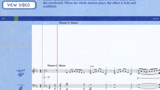 Listen and read along with Britten's famous piece.