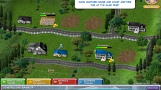 Build-a-lot features an excellent ongoing tutorial to teach players the ins and outs.