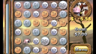 Select many coin combinations to add up to the target amount.