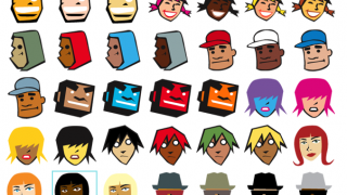 Avatars are diverse and well designed.