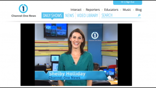 All of Channel One's daily news videos are hosted on the site.