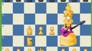 Quirky characters and entertaining animations make learning the game fun.