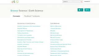 The module provides nearly comprehensive coverage of various Earth Science topics.