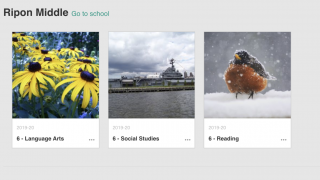 Organize and post to multiple classes in one platform.
