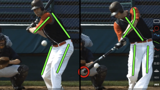 Side-by-side video analysis-tool