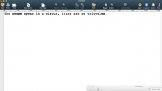 The third version of Comic Life includes a text tool that lets users write out their comic script before designing it.