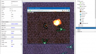 Users can test their game at any point in development.
