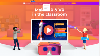 Getting help with CoSpaces Edu is easy through their homepage.