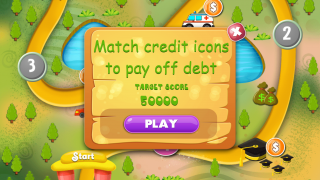 The goal of the game is to pay off debt as fast as you can.