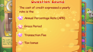 Occasionally, financial literacy questions pop up.