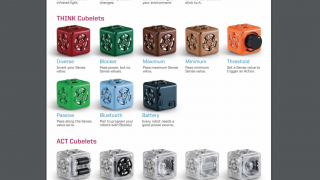Cubelets robots come in three groups: Sense, Think, and Act.