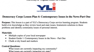 Detailed lesson plans walk teachers through several activities, from learning about government to engaging with elected officials.