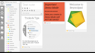 Beyondpad is a tool for organizing notes and clippings from around the web.