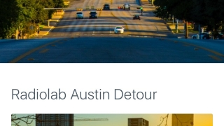 Featured cities have preloaded tours available.