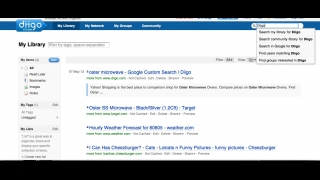 Users can save bookmarked pages to their site library.