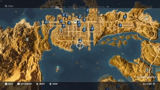 Tours can also be selected and teleported to from the map.