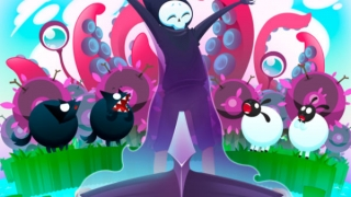 Appease the grim reaper with sheep souls in this strange but fun puzzler.