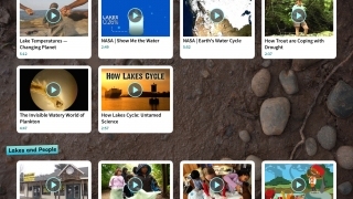 Nineteen video clips, organized into three sections, are all kid-appropriate.