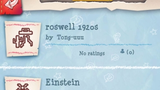 Featured community puzzle Roswell includes a spaceship and saguaro cactus while the Einstein puzzle has some hairy appendages.