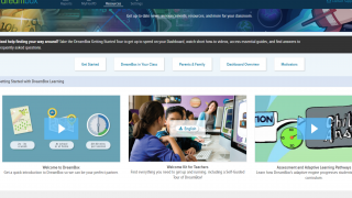 Plenty of teacher resources are available on the DreamBox site.