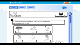 This worksheet prompts kids to label organisms.