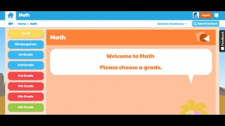 Search for math resources by grade level and standard.