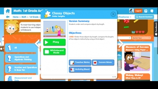 Activities can be viewed on individual devices or as a whole class.