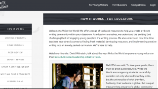 There are lots of resources for educators.
