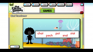 Games help teach kids about word sounds and components, new terms, and other language elements.