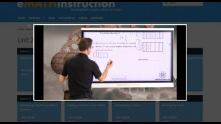 Other videos feature the instructor talking and using a smartboard.