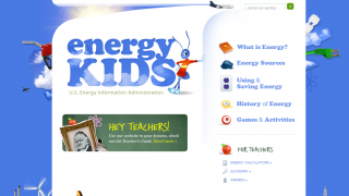 Energy Kids features a collection of energy information and resources.