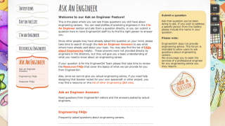 "The ""Ask an Engineer"" forum provides opportunities for girls to ask questions directly to female professional engineers."