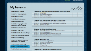 eScience3000 provides instruction on a broad range of middle school science topics.