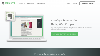 Evernote's Web Clipper plug-in lets you save content directly from the web as you browse.