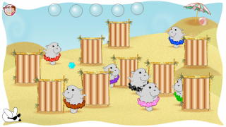 """Each section of the brain has its own mini-game, like """"Hiding Hippos."""""""