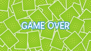 "Each round ends with a simple ""Game Over"" screen."