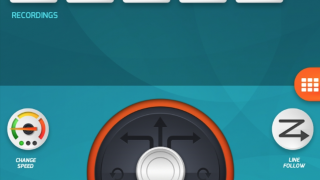 In Drive mode, record your movements to create a program you can play back later.