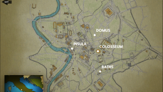 Players excavate four different types of sites around the city.