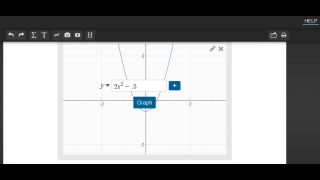 Creating graphs is quick and easy.
