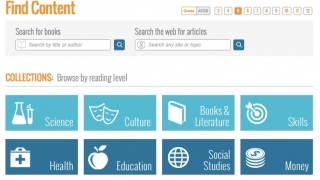 Students can browse a sprawling range of nonfiction content on tons of topics.