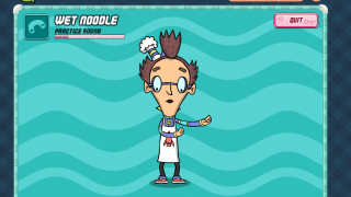 In Mixie's Boogie Buffet kids learn, and are encouraged to imitate, food-themed dance moves.